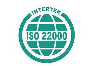 ISO 22000  公司iso体系认证